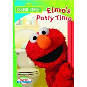 Elmo Potty Time DVD